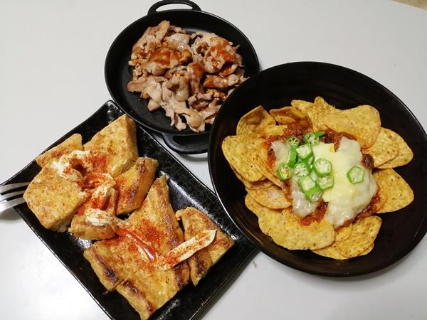 リングフィットで筋トレダイエット中の食生活10月19日の週