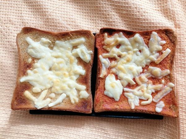 低糖質ダイエット★ブラン食パンの簡単トーストレシピ