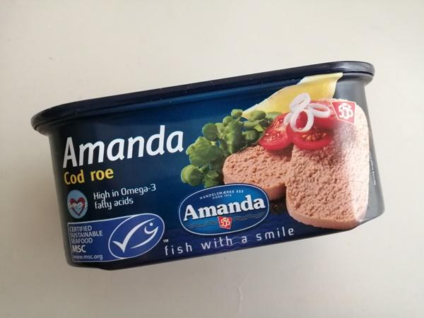 タラコの缶詰Cod roeで色々レシピ☆業務スーパー&やまや