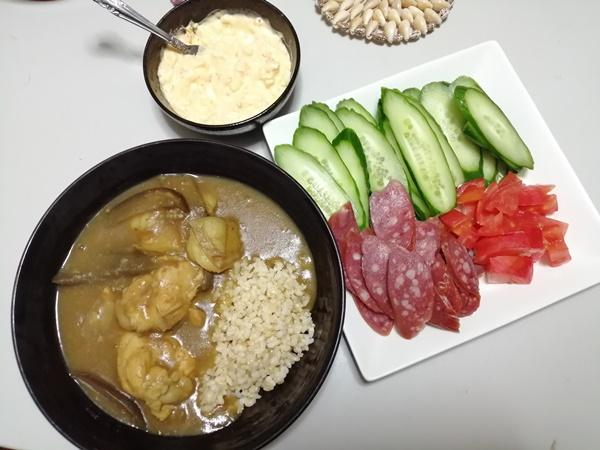 You Tubeで筋トレダイエット中の食生活2021年7月5日の週